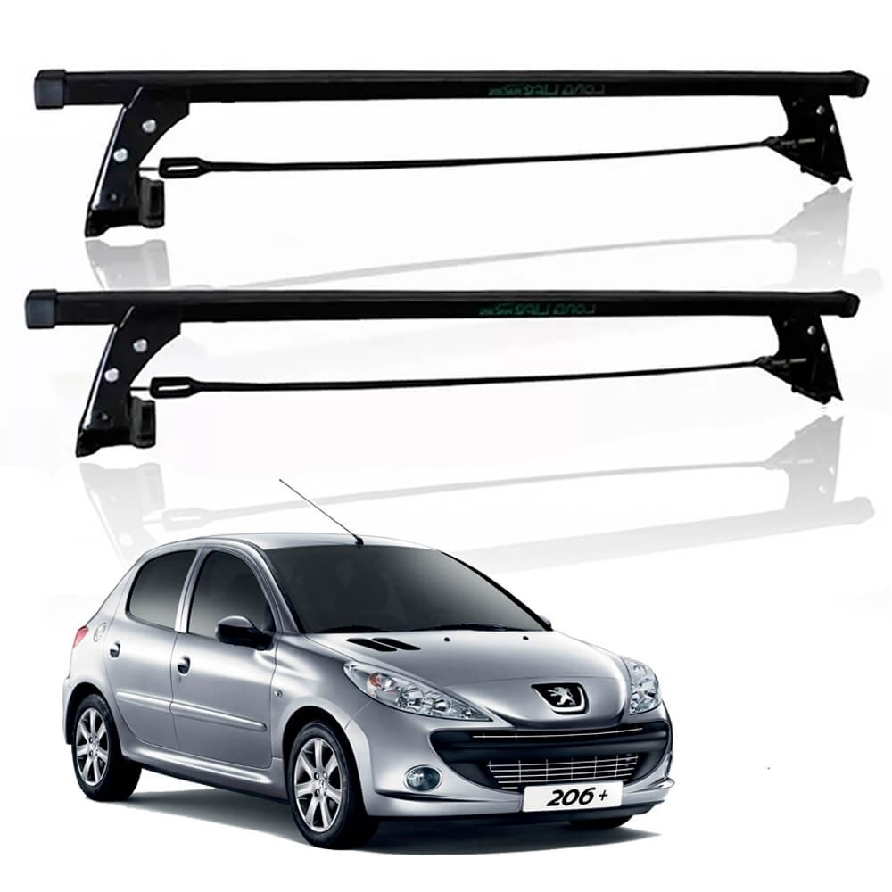RACK TETO PEUGEOT 206 207 HATCH 2 PORTAS  LONG LIFE 206-2