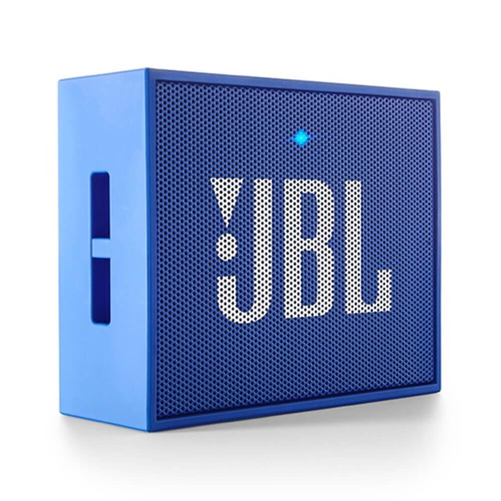 CAIXA DE SOM PORTÁTIL JBL GO AZUL ORIGINAL BLUETOOTH