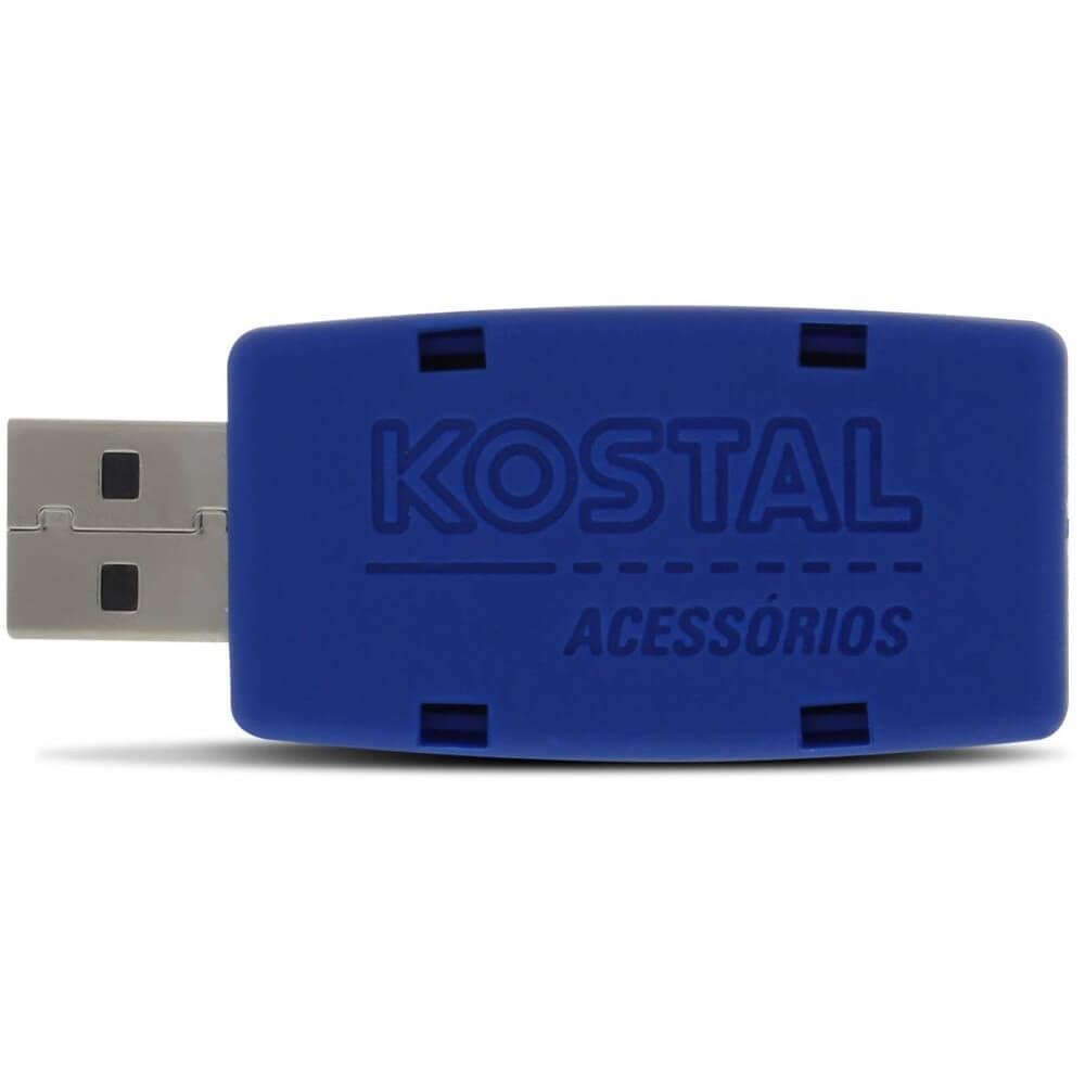 DISPOSITIVO CONFIGURADOR INTERFACE USB PARA ALARME KOSTAL LINHA K-CONNECT