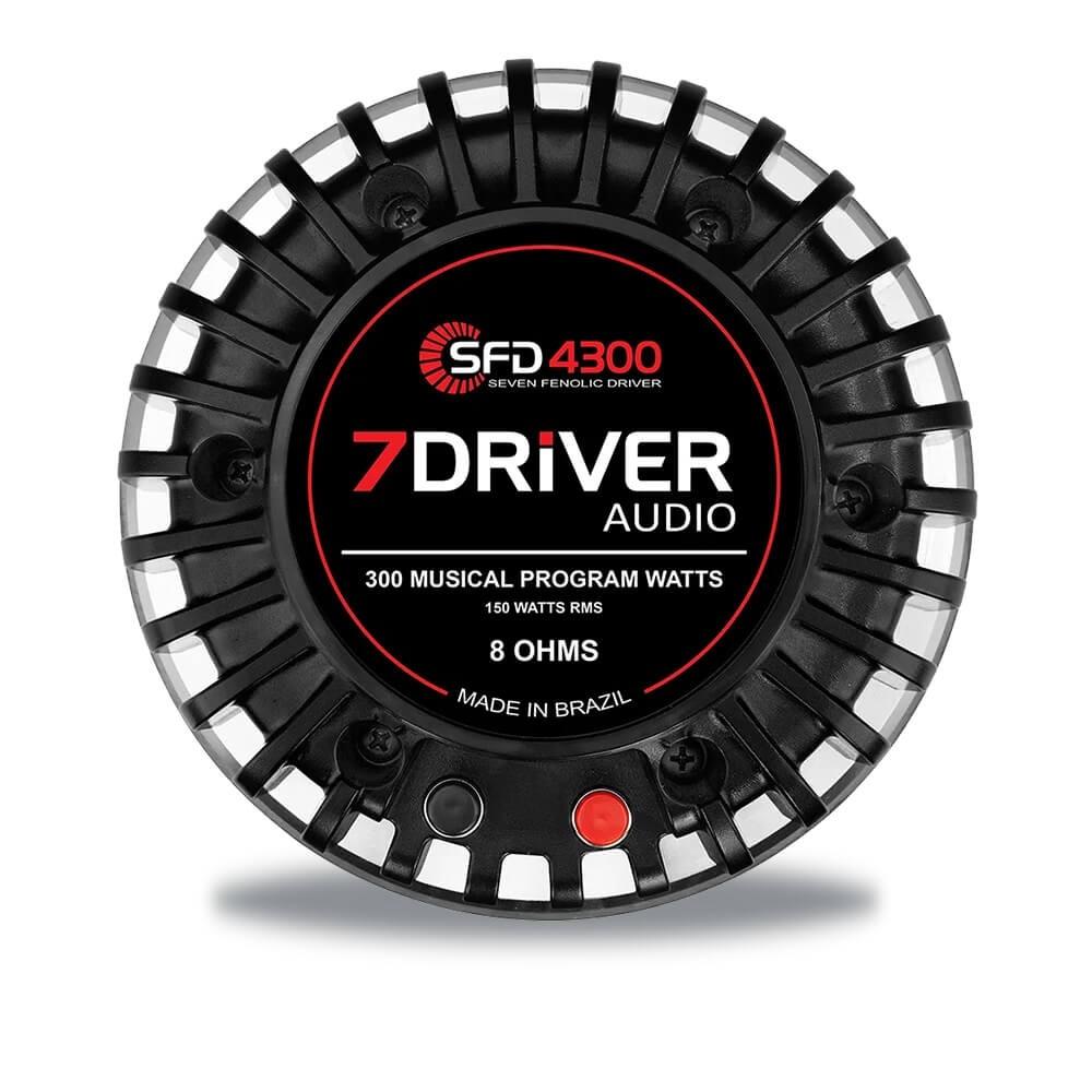 DRIVE SFD 4300 150W RMS 8 OHMS SEVEN DRIVE