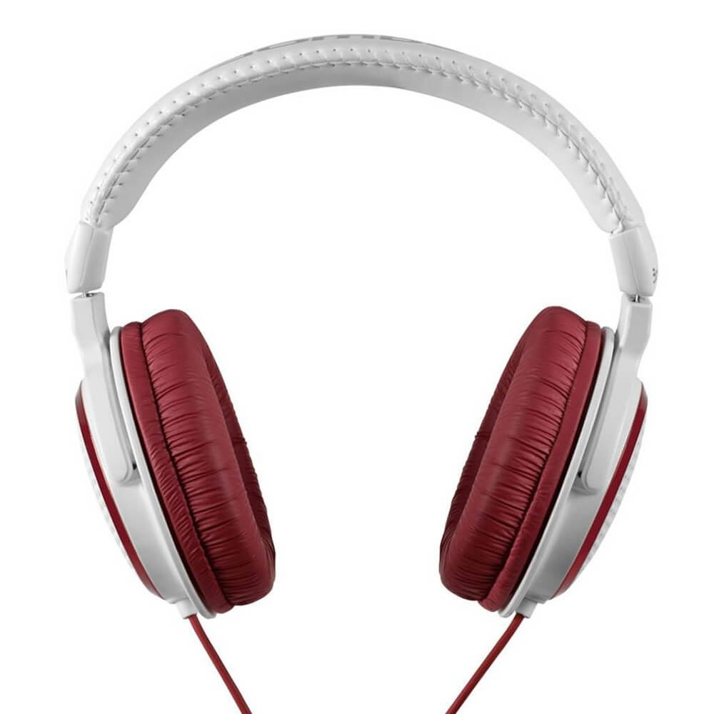HEADPHONE BOMBER BORDEAUX VERMELHOBRANCO HB01G