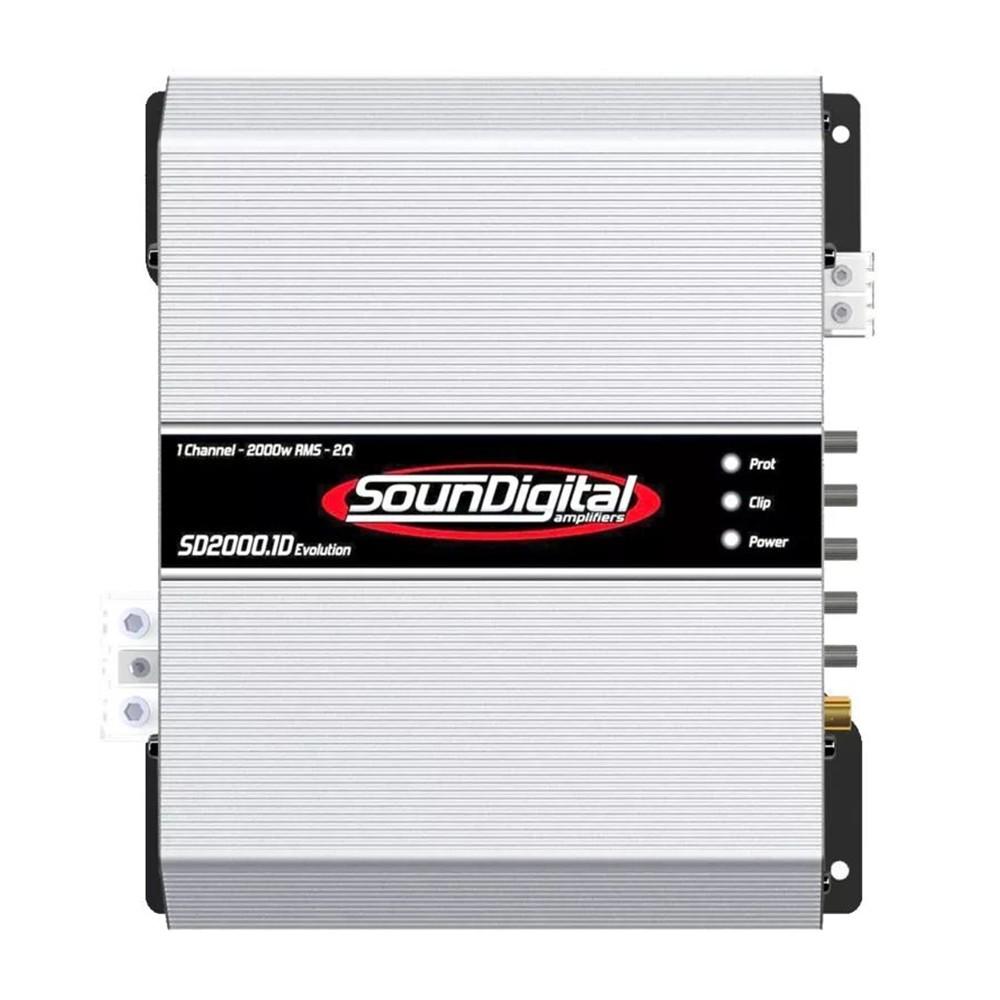 MODULO POTENCIA SOUNDIGITAL SD2000.1D EVO 2 OHMS