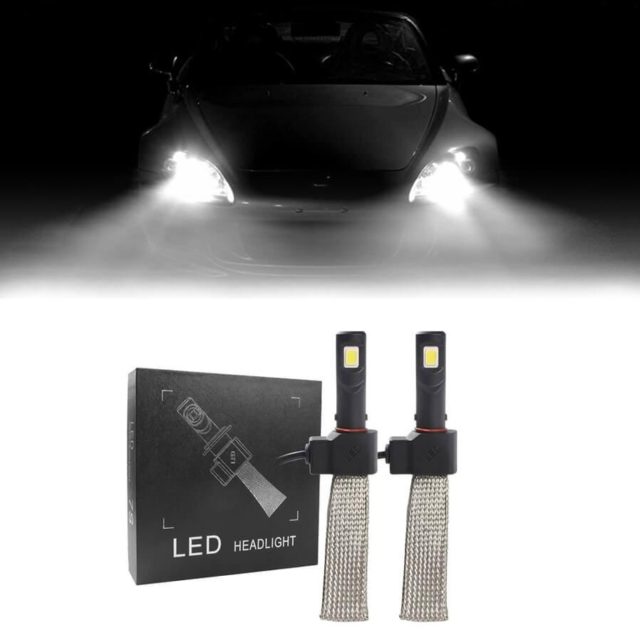 PAR LÂMPADA SUPER LED HB4 RAY X FLEX HEADLIGHT 6400K LUMENS