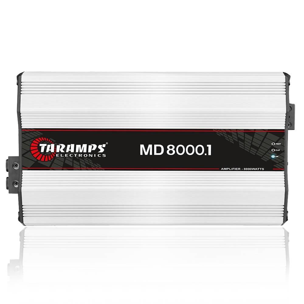 MÓDULO AMPLIFICADOR TARAMPS MD8000.1 1 OHM AMPLIFICADOR POTENCIA