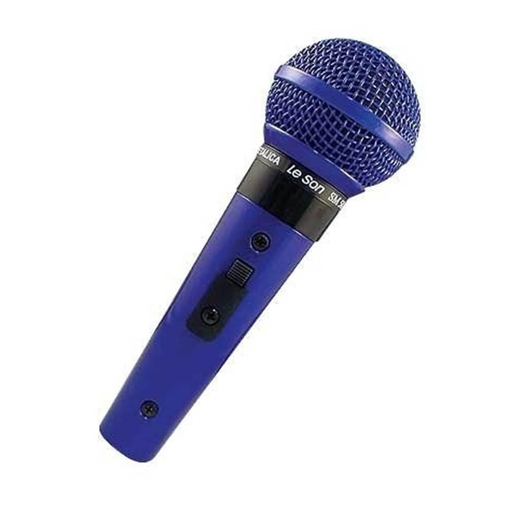 MICROFONE SM58 P4 AZUL LE SON 2AM002265