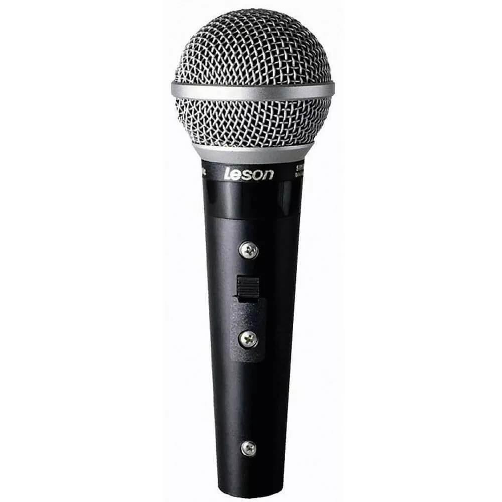 MICROFONE SM58 PLUS PRETO LE SON 2AM002007