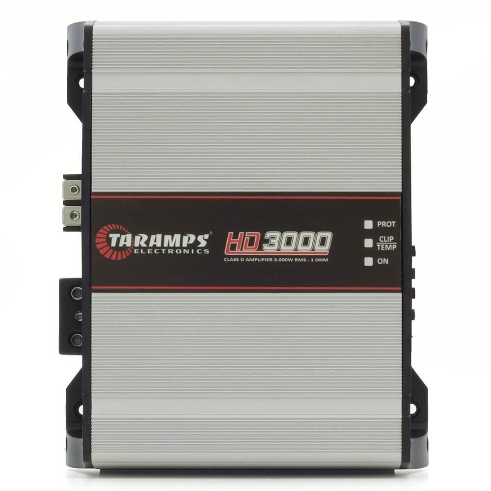 MODULO AMPLIFICADOR TARAMPS HD3000 3000W RMS 1 OHMS 1 CANAL DIGITAL CLASSE D