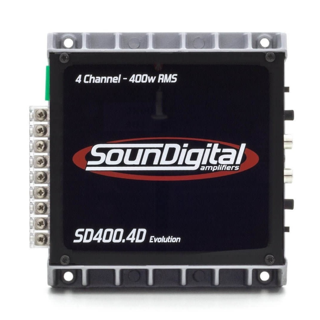 MODULO POTENCIA SOUNDIGITAL SD400.4D EVOLUTION 2 e 4 OHMS