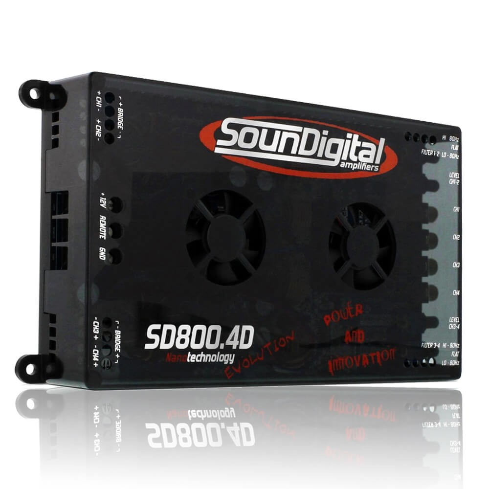 MODULO POTENCIA SOUNDIGITAL SD800.4DEVO 2 OHMS