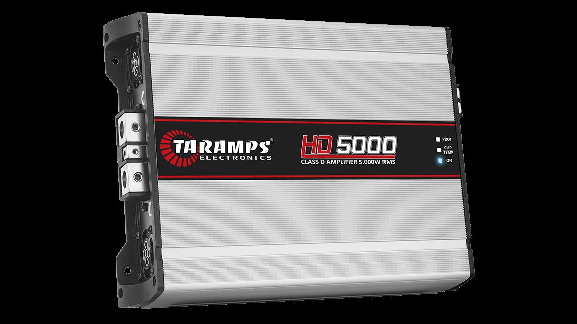MÓDULO AMPLIFICADOR TARAMPS HD5000 1 OHM CLASS D AMPLIFICADOR POTENCIA
