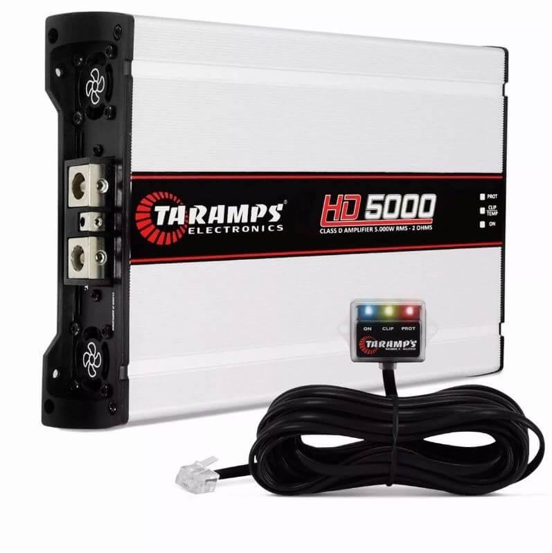 MÓDULO AMPLIFICADOR TARAMPS HD5000 2 OHMS 1X5997 WRMS MONO 138 VDC AMPLIFICADOR POTENCIA