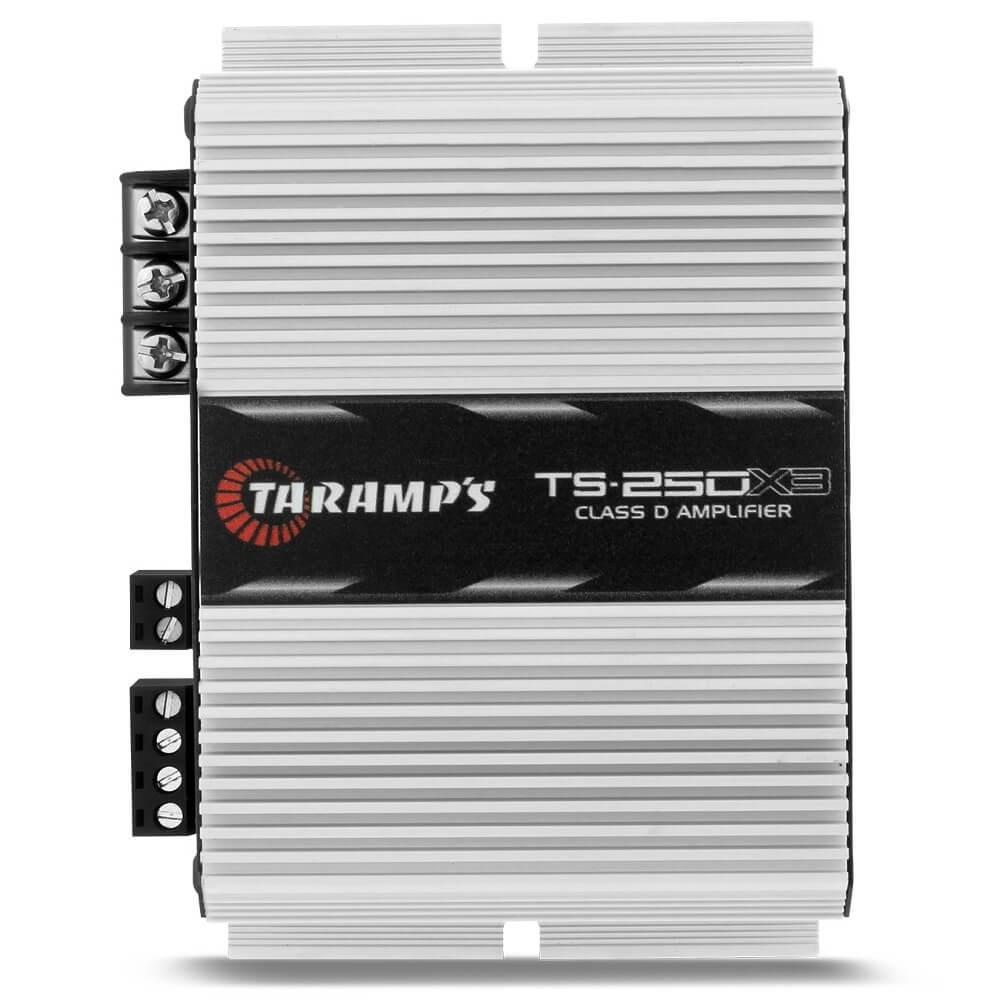 MÓDULO AMPLIFICADOR TARAMPS TS 250X3 3 CANAIS 1X126W + 2X63W RMS CLASS D AMPLIFICADOR POTENCIA