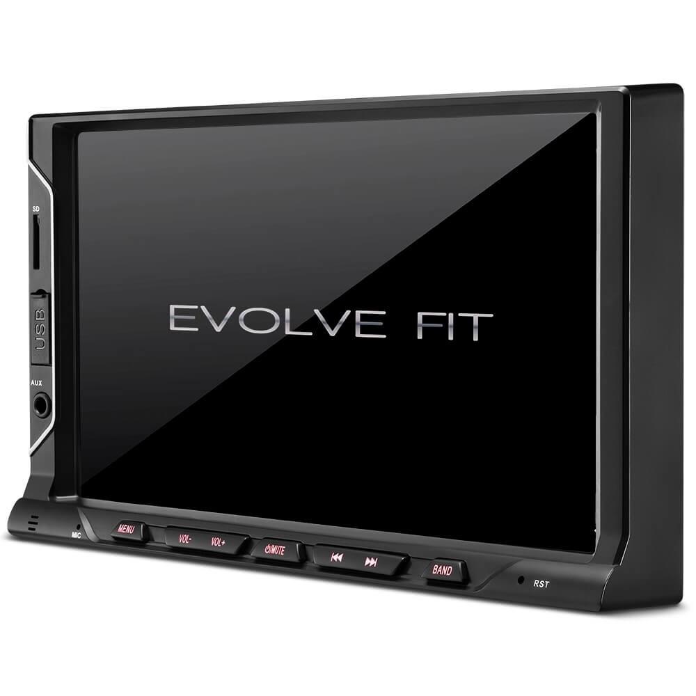 DVD 2DIN EVOLVE FIT  BLUETOOTH COM MIRRORLINK USB P3328/GP328 MULTILASER