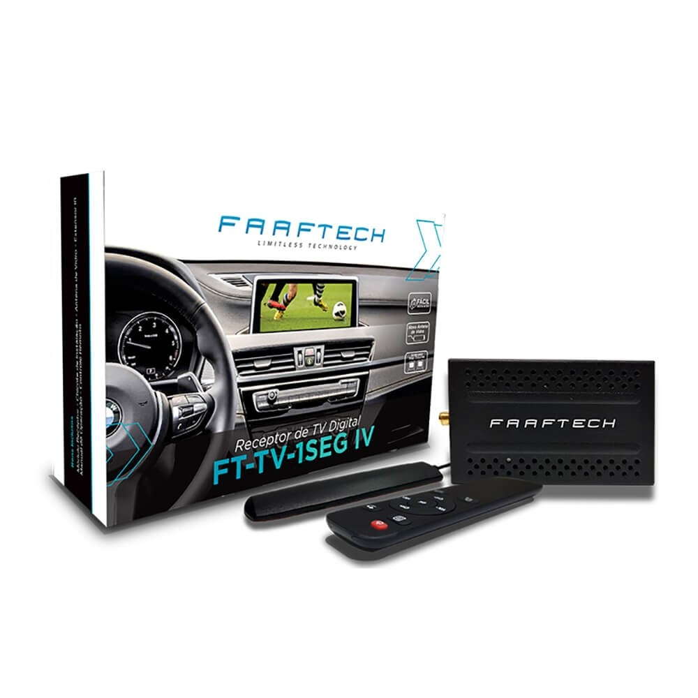 RECEPTOR TV DIGITAL COM INTEGRACAO COM AS INTERFACES FAAFTECH 1893 FT-TV-1SEG IV