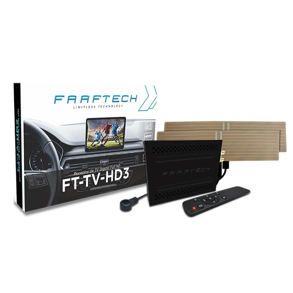 RECEPTOR TV DIGITAL COM INTEGRAÇÃO DE CONTROLES COM AS INTERFACES FAAFTECH