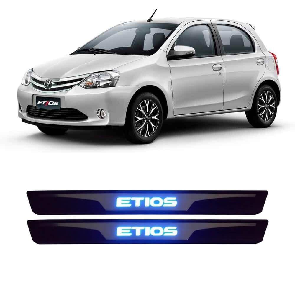 SOLEIRA LED TOYOTA ETIOS 2 PECAS MK2