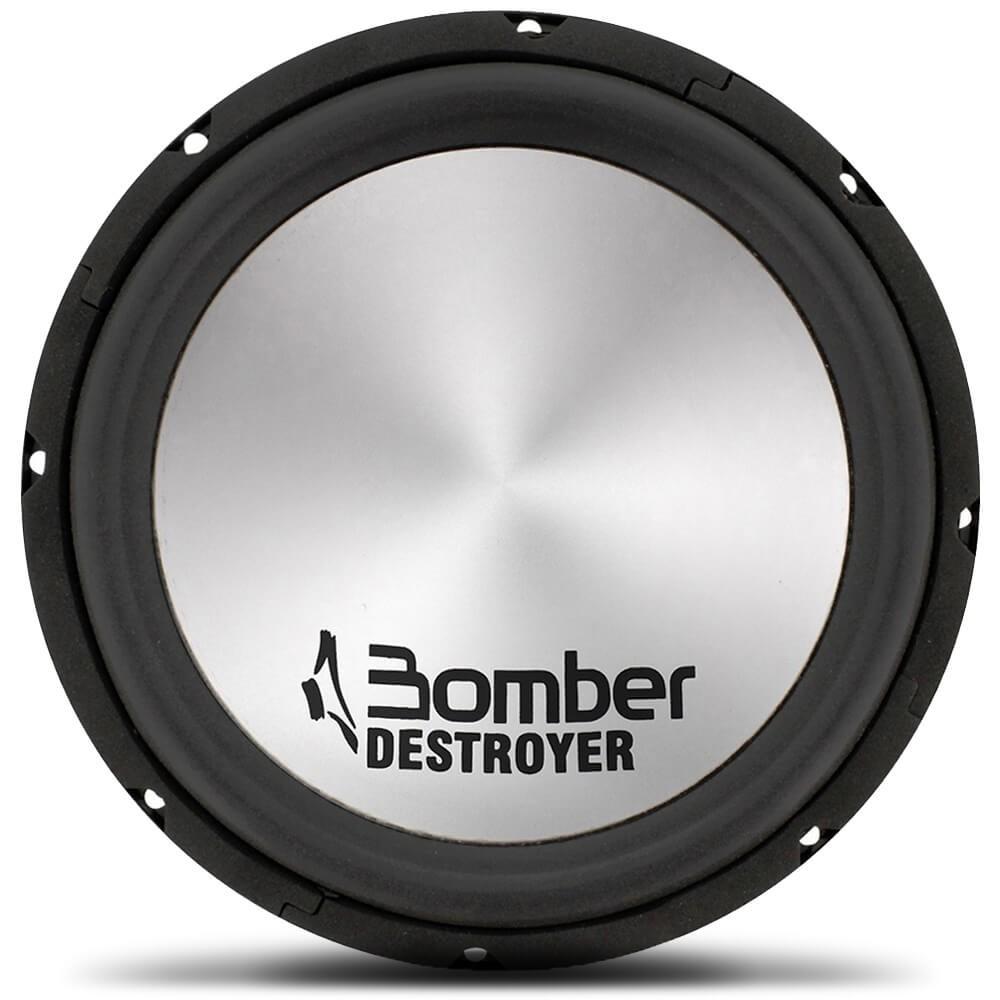 """ALTO FALANTE 10"""" BOMBER DESTROYER SUBWOOFER D4 800W BOMBER 122011"""