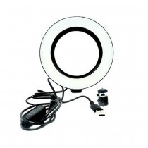 ILUMINADOR RING LIGHT LED ANEL ARO DE LUZ 6 POLEGADAS