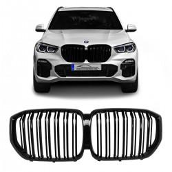 GRADE BMW SÉRIE 5 X5 G05 DUPLA HASTE BLACK PIANO Vo6