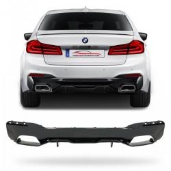 KIT SPOILER TRASEIRO BMW SERÍE 5 G30 ESPORTIVO BLACK Vo6