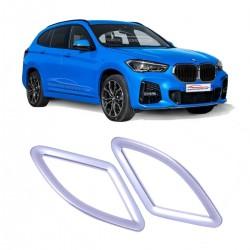 APLIQUE TAMPA DE VENTILAÇÃO INTERNA LATERAL BMW X1 PRATA Vo6