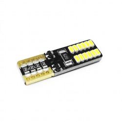 LAMPADA 24 LEDS W5w T10 CANBUS BIVOLT Vo6