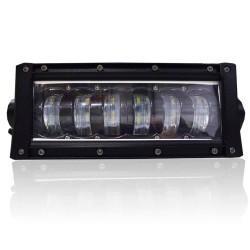 BARRA LED OFF ROAD 27CM 6 LEDS 28.8W LIGHT BAR MK2