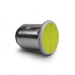 LAMPADA 1157 LED COB 12V 6000k 2 POLOS  Vo6