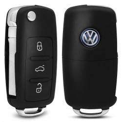 CHAVE CANIVETE MODELO VOLKSWAGEN 3 BOTOES
