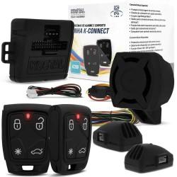 ALARME AUTOMOTIVO KOSTAL K-CONNECT K350 COM BLOQUEIO DE PARTIDA