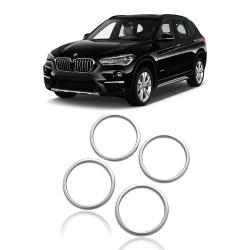 TAMPA DO CIRCULO DE AUDIO PARA BMW X1 2016 PLASTICO PINTADO MKS 16X1YXQ4JT-YS