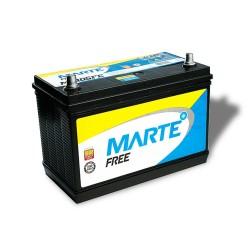 BATERIA AUTOMOTIVA MARTE FRE 105 AMPERES 12V 25,300KG POLO POSITIVO ESQUERDO - F105FE