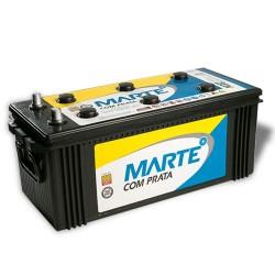 BATERIA AUTOMOTIVA MARTE COM PRATA 150 AMPERES 12V 39,300KG POLO POSITIVO DIREITO - F150LD