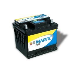 BATERIA AUTOMOTIVA MARTE FREE 50 AMPERES 12V 12,100KG POLO POSITIVO DIREITO - F50PD