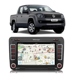 CENTRAL MULTIMIDIA MODELO VW16MX AMAROK ATE 2014 MK2 VW16MX 6658AR