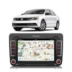 CENTRAL MULTIMIDIA MODELO VW16MX JETTA 2014 MK2 VW16MXJETT 6658AR