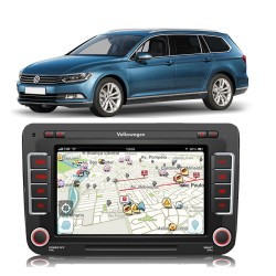 CENTRAL MULTIMIDIA MODELO VW16MX PASSAT 2014 E VARIANT 2014 MK2 VW16MXPSS 6658AR
