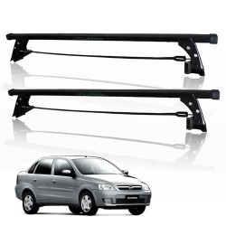 RACK TETO CORSA ATÉ 2003 HATCH SEDAN 4 PORTAS SEM ABERTURA NO FRISO LONG LIFE CS-4