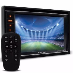 DVD POSITRON SP8830LINK 2 DIN TELA 6.2 ESPELHAMENTO P/ IPHONE ENTRADA USB SD AUX P2 TV BLUETOOTH