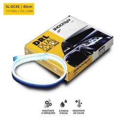 FITA LED DUAL COLOR 45CM 3000 6000K 12V 5,6W 117 LEDS  SHOCKLIGHT SL-DC45