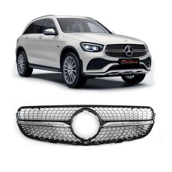 GRADE MERCEDES GLC DIAMOND CROMADO