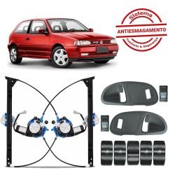 KIT VIDRO ANTIESMAGAMENTO VW GOL PARATI G2 95 ATE 2000 2 PORTAS TRAGIAL PAKVVWAE001