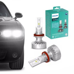 PAR LÂMPADA PHILIPS FOG H8 H11 H16 LED ULTINON 6200K 12 VOLTS 35W 11366ULWX2