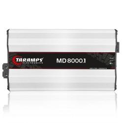 MÓDULO AMPLIFICADOR TARAMPS MD8000.1 2 OHMS AMPLIFICADOR POTENCIA