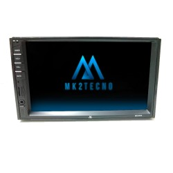 CENTRAL MULTIMÍDIA MK2 MP5 COM ESPELHAMENTO ANDROID E IOS USB SD CARD RÁDIO FM 4X50WTS RMS MK2020