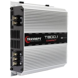 MODULO AMPLIFICADOR TARAMPS T800 COMPACT 800W RMS 2 OHMS 1 CANAL