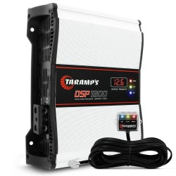 MÓDULO AMPLIFICADOR TARAMPS DSP1600 1600W RMS 2 OHMS 1 CANAL DIGITAL CLASSE D
