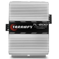 MÓDULO AMPLIFICADOR TARAMPS TL600 170W RMS 2 OHMS 2 CANAIS DIGITAL CLASSE D