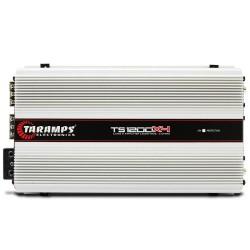 MÓDULO AMPLIFICADOR TARAMPS TS1200 COMPACT 1200W RMS 2 OHMS 4 CANAIS