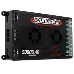 MODULO POTENCIA SOUNDIGITAL SD800.4 4 OHMS